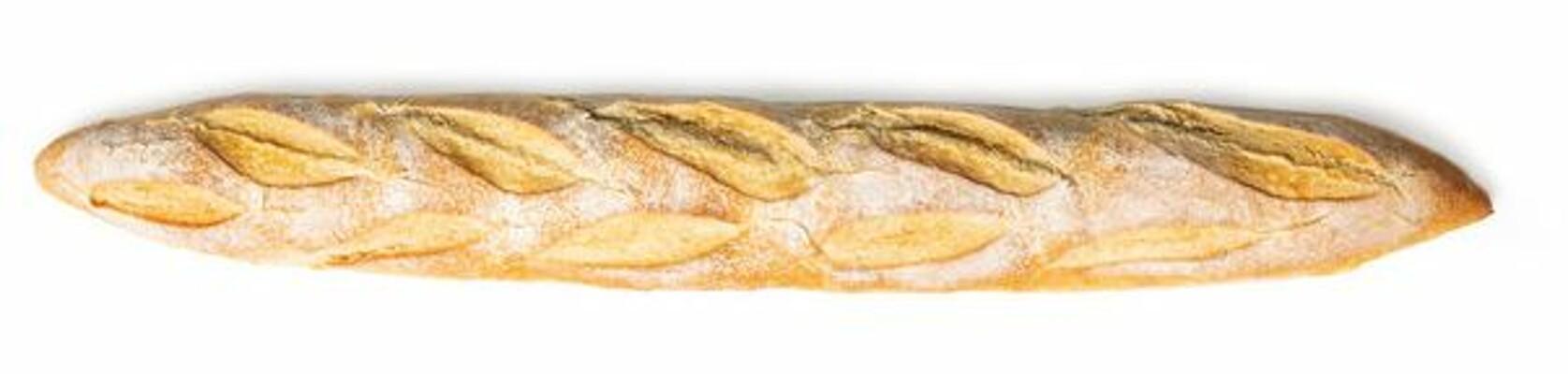 Predpečená rustikálna biela bageta  280 g