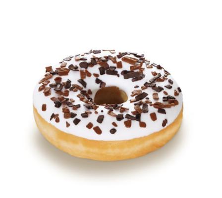 Vanilla Donut - s polevou s vanilkovou příchutí