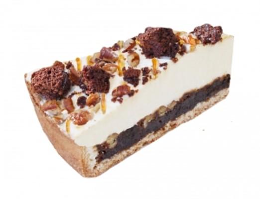 Pekanový dort s karamelem