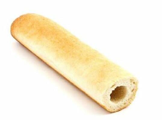 Velký Hot Dog rohlík 105g