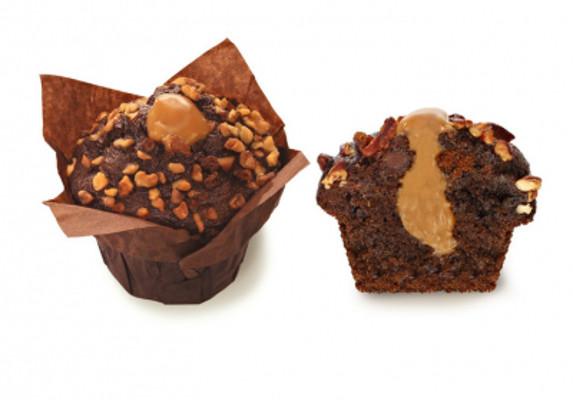 Brownie Caramel Muffin