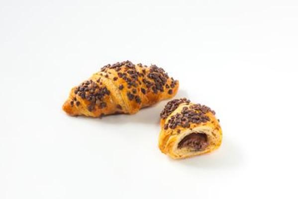 Mini croissant plnený čokoládou maslový