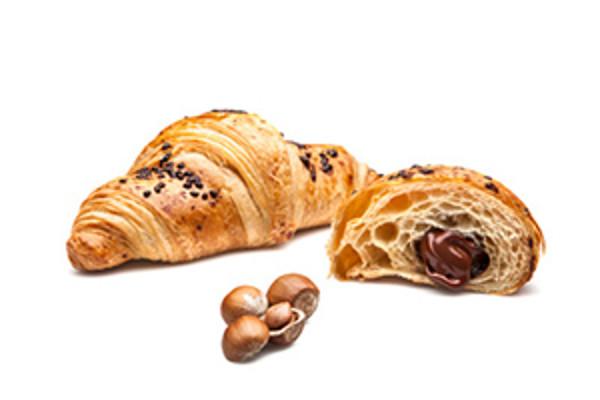 Express croissant s lieskovoorieškovým krémom - s maslom 85g