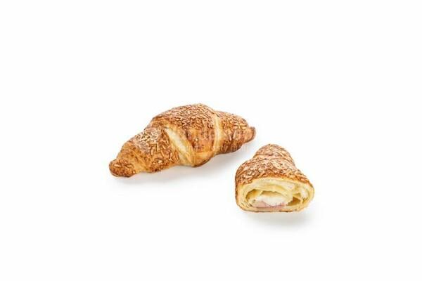 Express croissant so šunkou a syrom