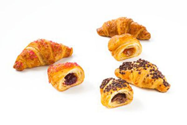 Mixed box express mini plnených croissantov 40g