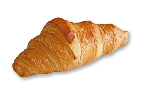 Plně dopečený croissant - máslový