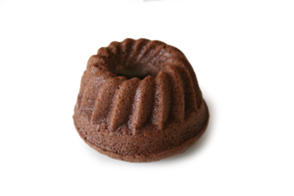 Bezgluténová mini kakaová bábovka