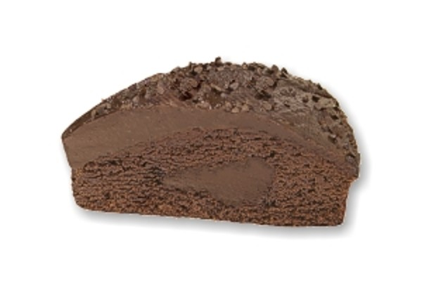 Triple chocolate cake - okrúhly