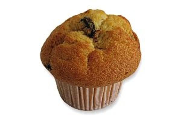 Vanilla Muffin with Chocolate